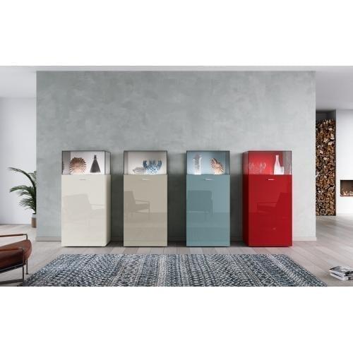 Hülsta now! no.14 Glass cabinet vitrine üveges vitrin tálaló innoconcept design furniture bútor