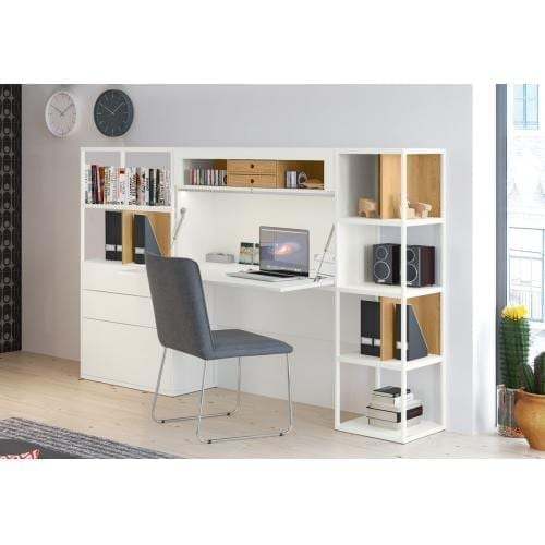 Hülsta VISION Desk with shelving unit-0