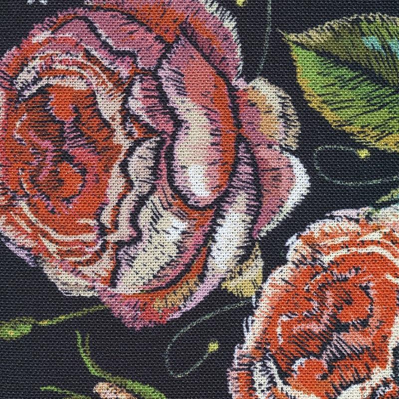 686 DUSTY rózsa mintás
