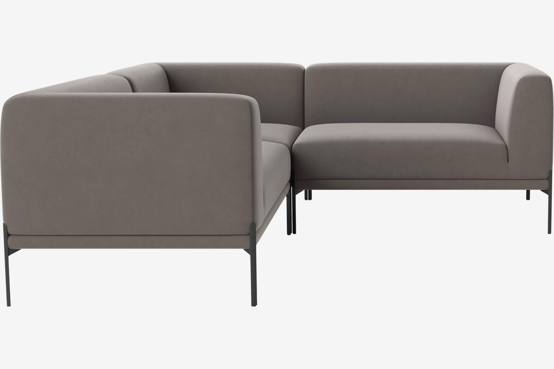 CAISA 5 seater modular corner sofa