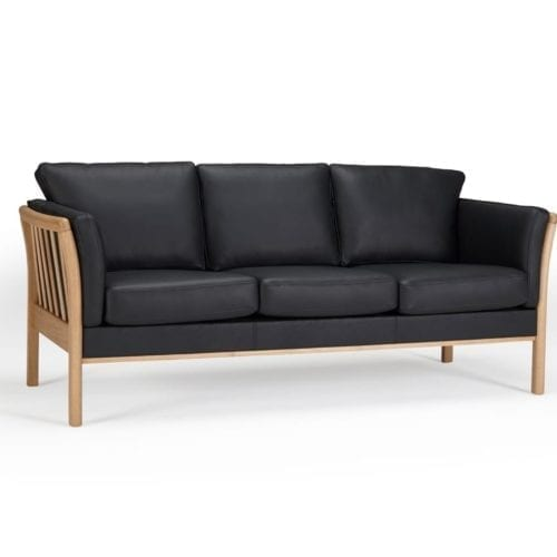 Kragelund Aya design leather sofa
