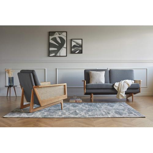 Kragelund-Egsmark-cane-webbing-sofa-2-seater-armchair-anthracite-interior-2-szemelyes-kanape-es-fotel-antracit-enterior
