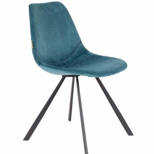 Dutchbone FRANKY bársony étkezőszék // velvet dining chair
