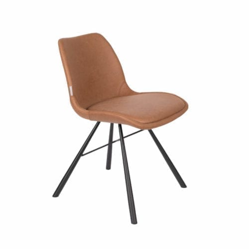 Zuiver BRANT leather dining and office chair // bőr etkezőszék és irodai szék