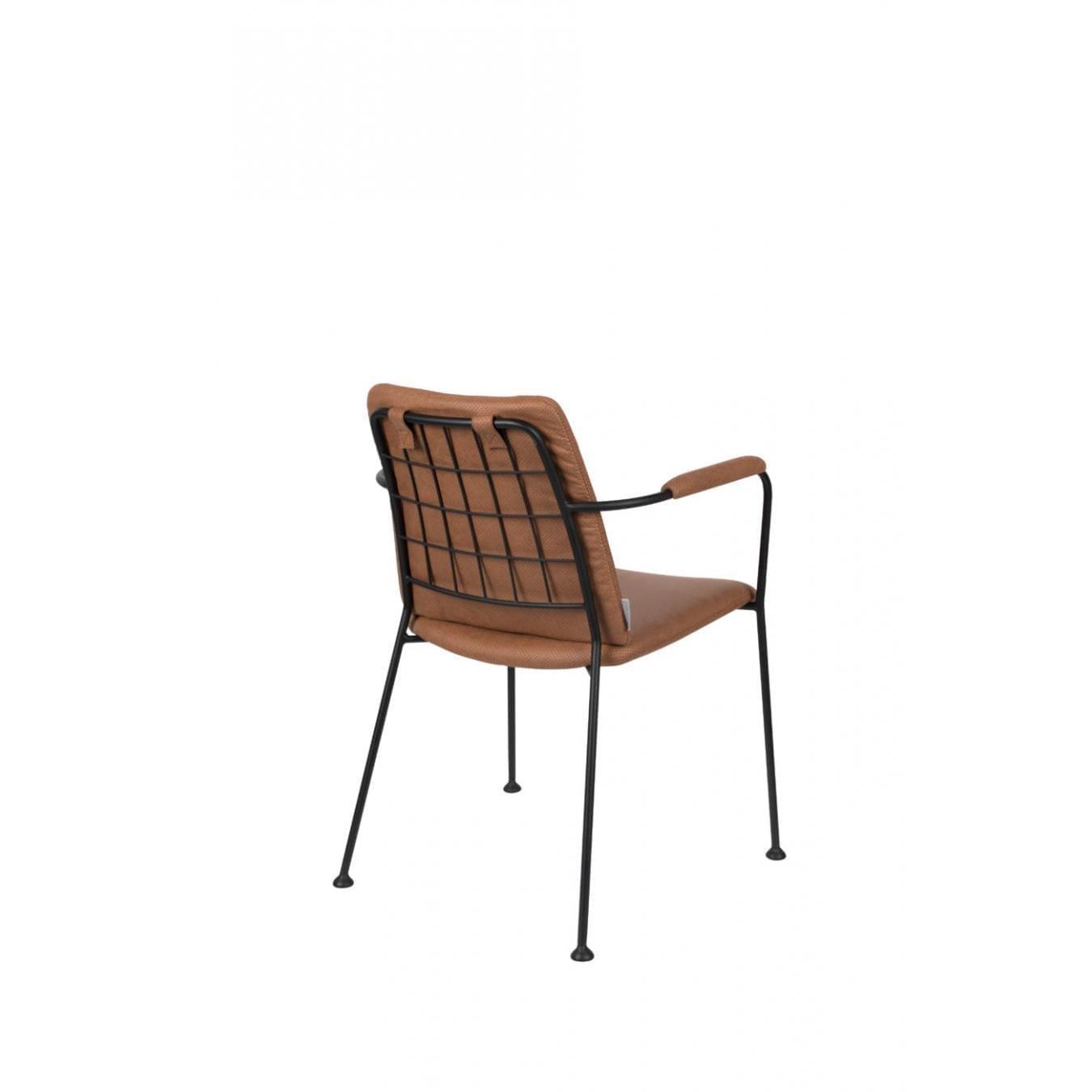 Zuiver FAB leather chair // textilbőr szék