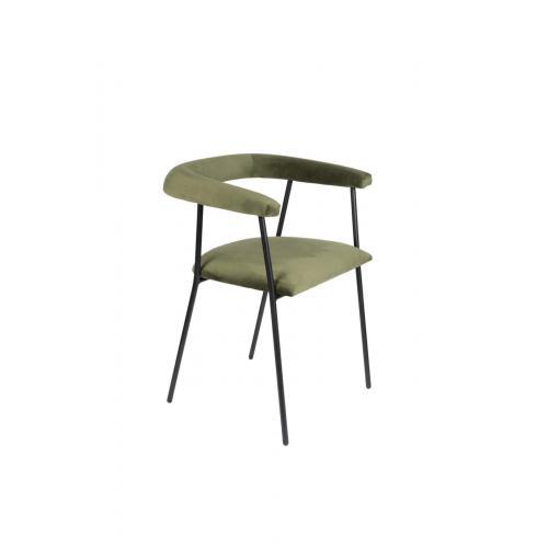 Dutchbone Haily armchair green // Haily Karfás szék zöld