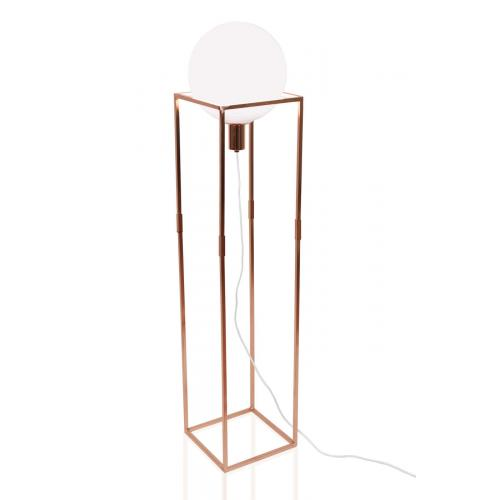 Globen Lighting Cube floor lamp copper // Cube állólámpa vörösréz
