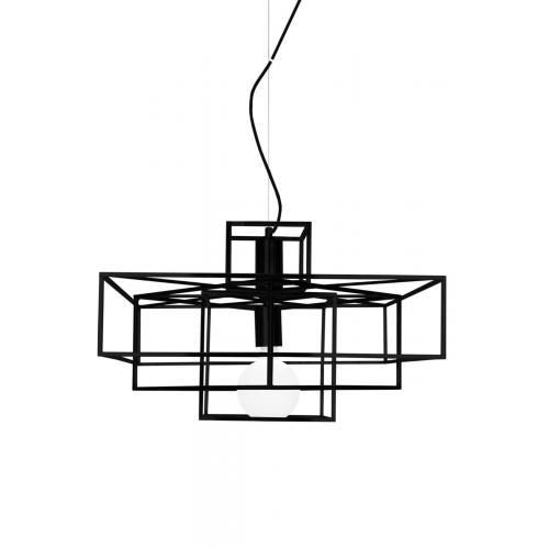 Globen Lighting Cube pendant black // Cube függőlámpa fekete