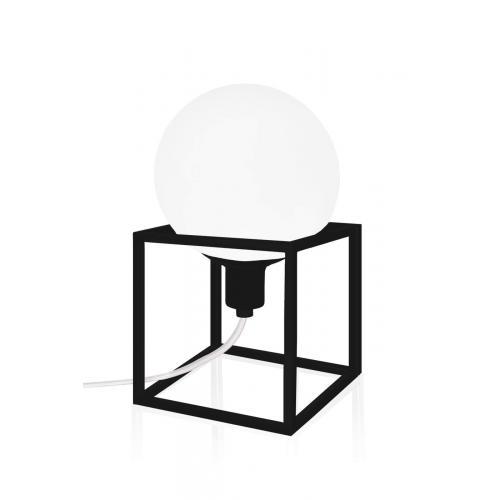 Globen Lighting Cube table lamp black // Cube asztali lámpa fekete