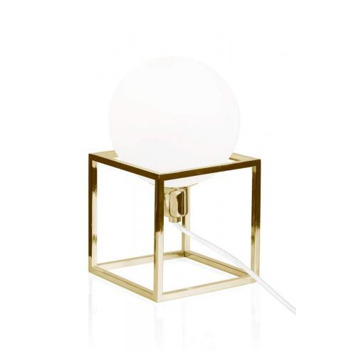 Globen Lighting Cube table lamp brass // Cube asztali lámpa réz