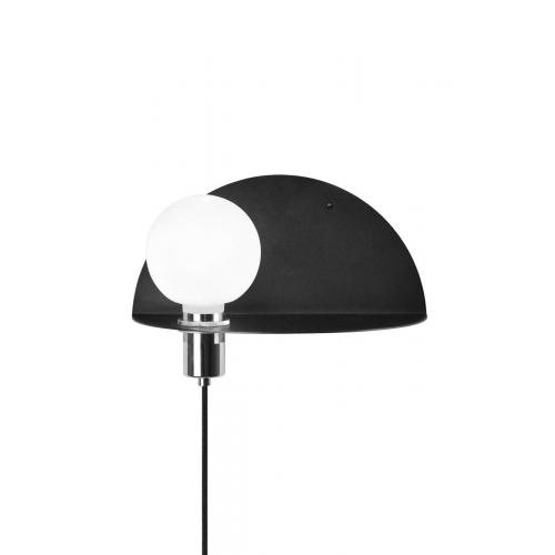 Globen Lighting Walldorf wall lamp black // Walldorf fali lámpa fekete