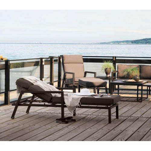 Brafab Belfort outdoor lounger kültéri napágy