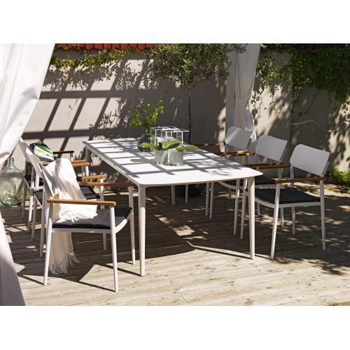 Brafab Grandby outdoor dining table/kültéri étkezőasztal