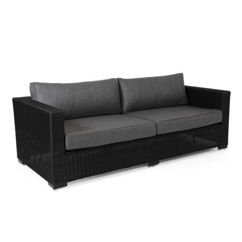 Brafab-Ninja-outdoor-3-seater-sofa-black-front-kulteri-3-szemelyes-kanape-fekete-elol
