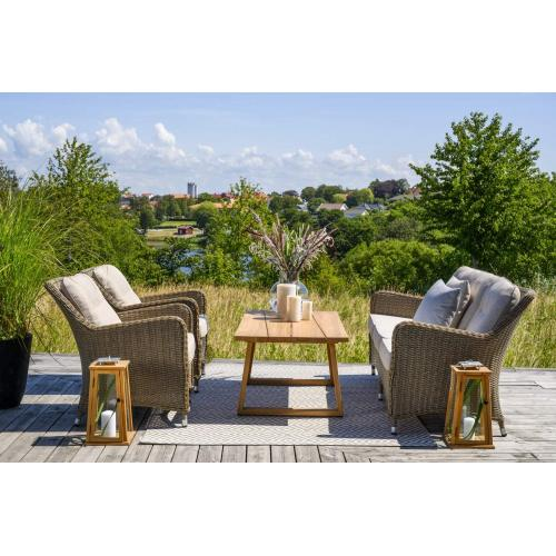 Brafab Laurion outdoor coffee table natural enterior/kültéri dohányzóasztal tikfa enteriőr