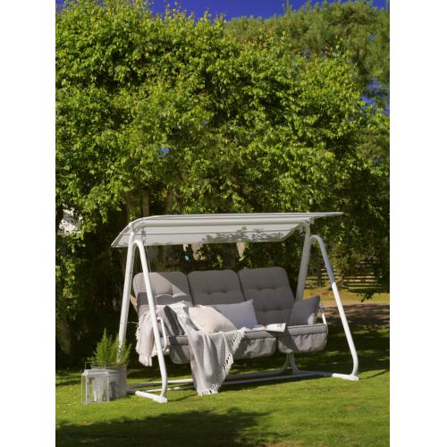 brafab metz garden swing white/kerti hinta fehér