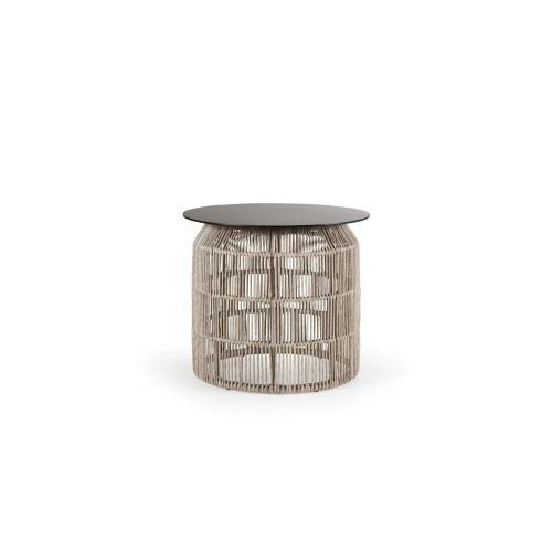 Brafab Pamir outdoor side table medium beige/kültéri kisasztal médium bézs