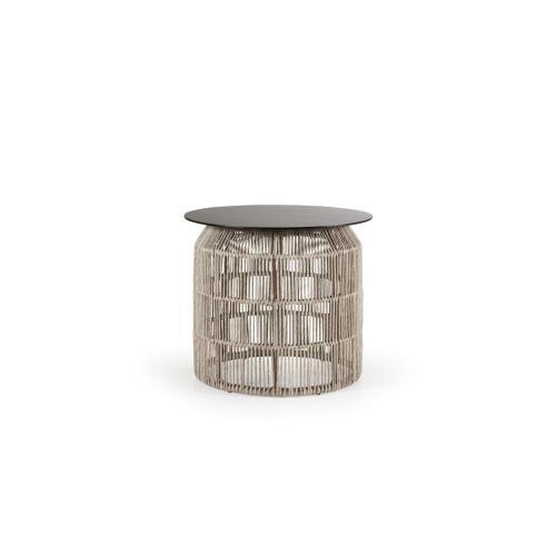Brafab Pamir outdoor side table medium beige/kültéri kisasztal médium bézs