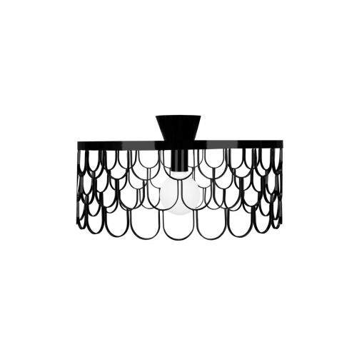 Globen-Gatsby-ceiling-lamp-black-fali-lampa-fekete