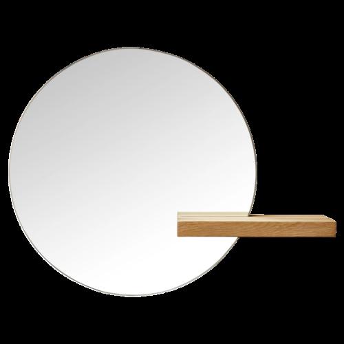 bolia-shift-small-round-mirror-oak-kicsi-kerek-tukor-tolgy