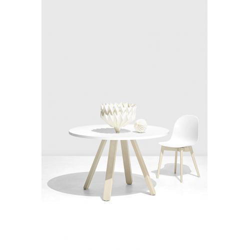 Connubia-Stecco-round-dining-table-kerek-etkezoasztal-2