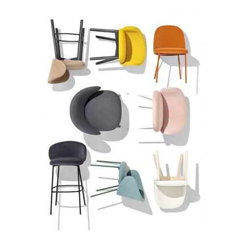 Connubia-Tuka-dining-chair-metal-legs-etkezoszek-fem-labakkal-8