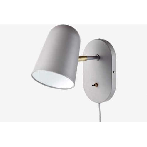 Bolia-Bureau-wall-lamp-grey-fali-lampa-szurke