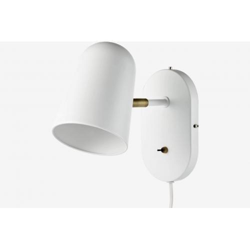 Bolia-Bureau wall lamp white fali lampa feher