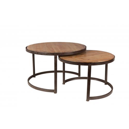 Zuiver-Jack-coffee-table-set-dohanyzoasztal-szett